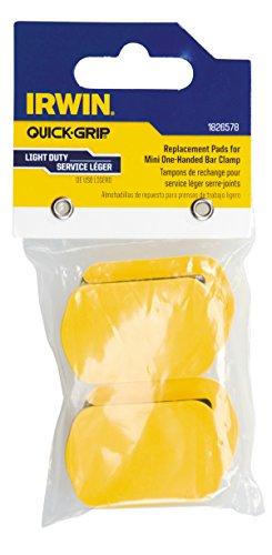 Irwin Tools 1826578 Quick-Ersatz-Pads für Einhand Mini-Klemmen (4Stück) (Clamp-pads Bar)