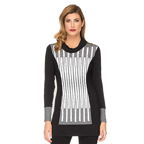 Joseph Ribkoff Women's Long Sleeve Cowl Neck Tunic