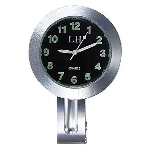 Reloj de motocicleta impermeable - TOOGOO(R) Reloj negro impermeable de UK de...