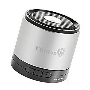 TBMax M7 Bluetooth Wireless Speaker Super Bass, Portable mini Bluetooth Speaker Speakerphone - Compact Small Size, Crystal Clear Powerful Sound with Incredible Super Bass. Rechargeable battery, Built-in MIC, Support Music Sou