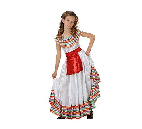 Imagen de disfraz de mejicana para niñas en varias tallas