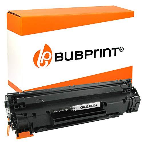 Bubprint Toner kompatibel für HP CB435A HP35A 35 A 35A für LaserJet P 1005 P1005 1006 P1006 1007 P1007 1008 P1008 1009 P1009 Schwarz - Drucker P1006 Laserjet Hp