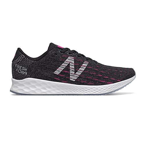 New Balance - Scarpe da Corsa da Donna Fresh Foam Zante Pursuit, Nero (Black/Pink), 40 EU