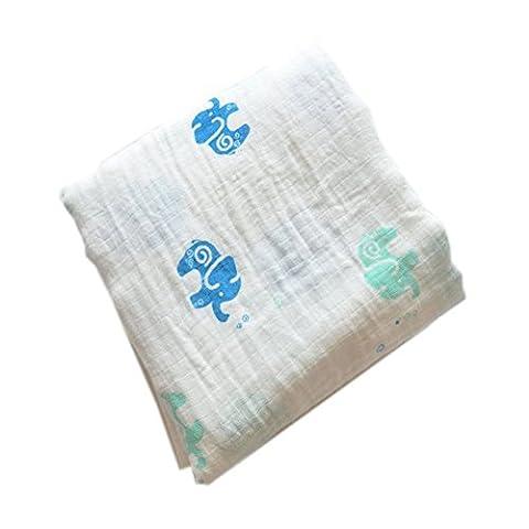 Sweetds Baby Neugeborene Baumwolltuch Weiche Waschlappen Decke, Kuscheldecke (Jahreszeit Stroller Abdeckung)