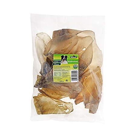 Dehner Hundesnack, Rinderohren, 260 g