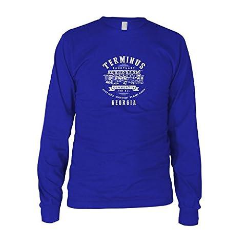 Terminus Sanctuary - Herren Langarm T-Shirt, Größe: XL, Farbe: