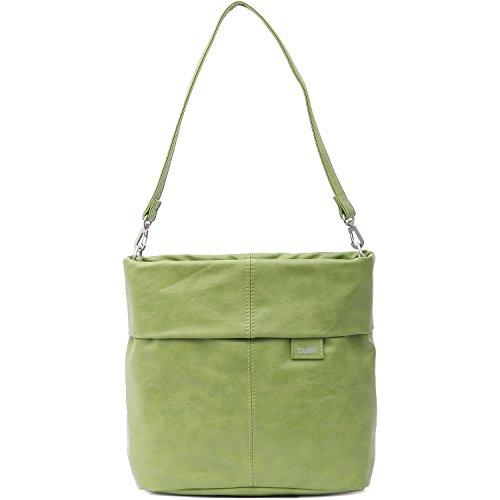 Zwei, Borsa a tracolla donna Green (Verde)