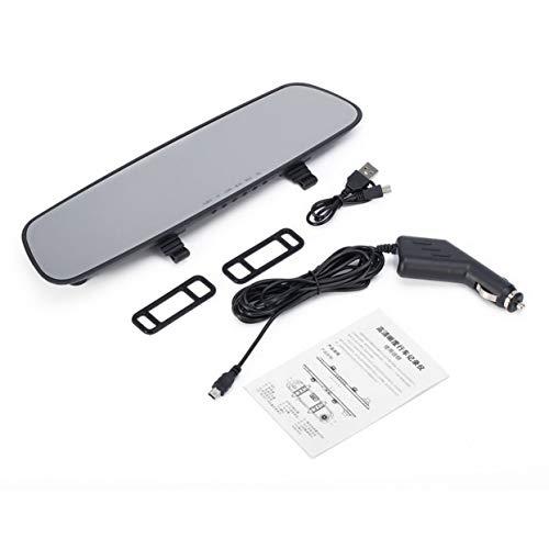Tree-on-Life Auto HD 1080P Ultra Slim HD 2,7 '' LCD-Videorecorder G-Sensor Dash Cam Rückspiegel Kamera DVR -