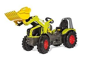 Rolly Toys RollyToys 651092 RollyX-Trac Premium Claas Axion 950 - Tractor de Pedales para niños de 3 a 10 años (neumáticos silenciosos), Color Verde