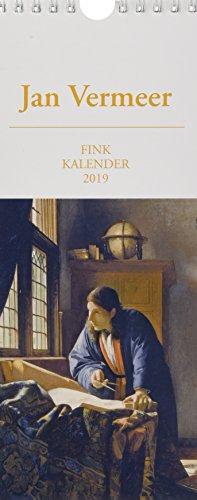 Jan Vermeer 2019: Kunst-Postkartenkalender (Vermeer-gemälde)