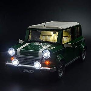 LIGHTAILING Set di Luci per (Creator Expert Mini Cooper) Modello da Costruire - Kit Luce LED Compatibile con Lego 10242… 0753318440074 LEGO