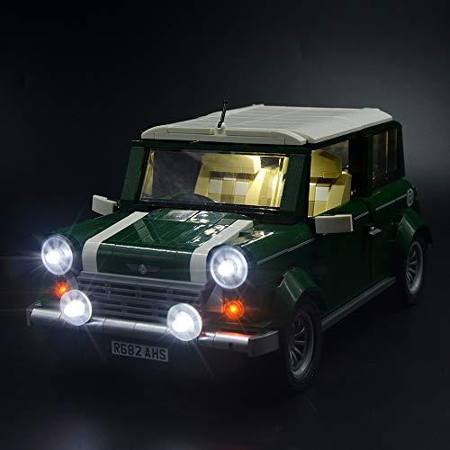 LIGHTAILING Conjunto de Luces (Creator Expert Mini Cooper) Modelo de Construcción de Bloques - Kit de luz LED Compatible con Lego 10242 (NO Incluido en el Modelo)