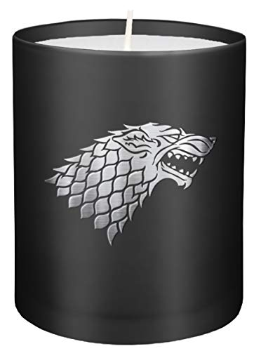 Photo de game-of-thrones-house-stark-large-glass-candle