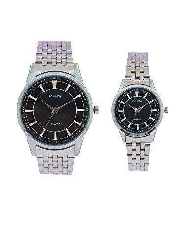 Faleda 6171PCHB Standred Analog Watch For Couple