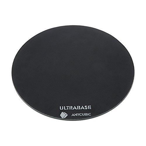 ANYCUBIC Ultrabase 3D Drucker Plattform Platte Durable Build Oberfläche für Prusa i3 MK2 MK3 Heatbed (Ultrabase Glas 240mm)