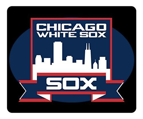 General Mouse Pad Rectangle Mouse Pad Gaming Mousepad Chicago White Sox Old Logo Rectangle [Non-Slip] Mousepad Oblong Gaming Mouse Pads White Sox Video