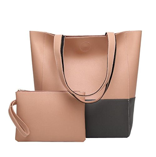 Eimer Typ Hit Farbe Schultertasche Diagonal Paket Handtasche Dame Lackleder Einfach Multi