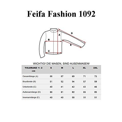 BOLF – Veste – Fermeture éclair – FEIFA 1092 – Homme Bleu foncé