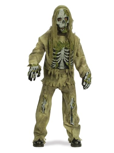 Uomo donna unisex m ragazzo – scheletro zombie. outfit costume per halloween living dead fancy dress