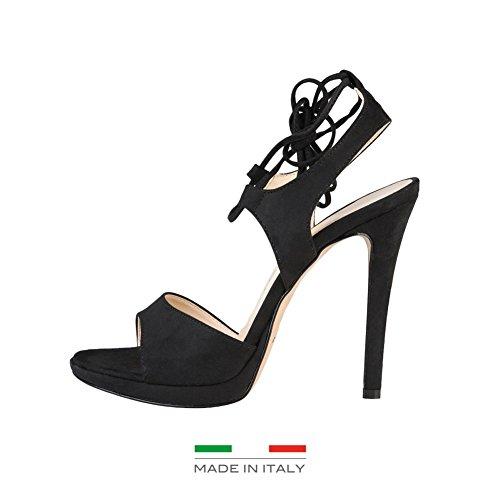Made In Italia Erica, Infradito donna nero Size: EU 41