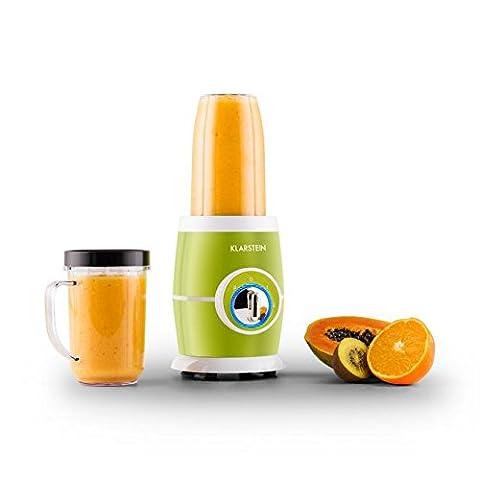 Klarstein Juicinho Nero mixeur sur pied blender compact (pour smoothies,