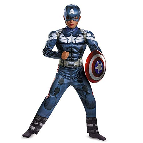 Blue Flash Kostüm - YXIAOL Kinder Superhelden Kostüm, Captain America