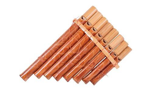 Holzspielerei PU1418 - Panflöte-Pfeife, klein