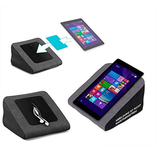 Tablet Kissen für das NextBook Flexx 8 - ideale iPad Halterung, Tablet Halter, eBook-Reader Halter für Bett & Couch