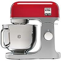 Kenwood kMix KMX750RD - Robot de cocina (potencia 1000 W, capacidad de 5 litros, 6 velocidades y 3 herramientas) color rojo