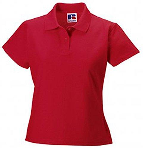 Jerzees Ladies Ultimate Pique Cotton® lo Shirt L Classic Red (Ultimate Shirt Damen Piqué)