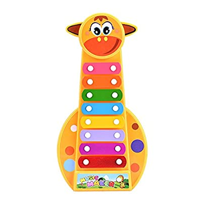 Musical Toys, Rcool Child Baby 8-Note Xylophone Music Toys Children Musical Instrument Toys Wisdom Development Puzzle Toys Kids Gift