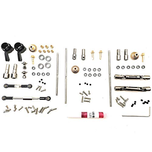 Zantec Upgrade-Metall-OP-Zubehör Spielzeug, für 1:16 WPL B14 B16 B24 C14 C24 B36 RC Auto Sechsradantrieb OP + Antriebswelle