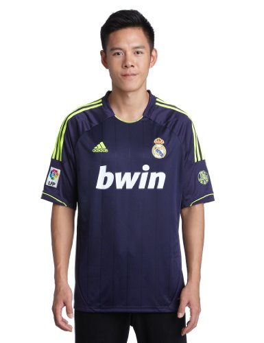 adidas, Maglia da trasferta Real Madrid Uomo blu navy - giallo