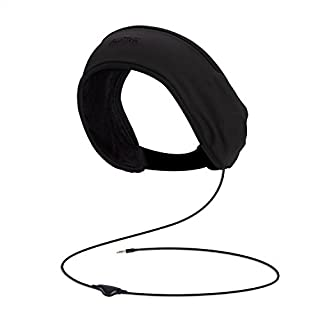 AGPTEK Sleep Headphone, Headband Headphone with Lycra Mesh Lining and Carry Bag for Sleeping, Sports, Traveling, Meditation, Insomnia, Corded, Black