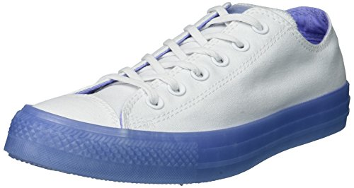 Converse All Star Dainty Ox Shoes - 37 EU, (Bianca/Twilight Pulse)