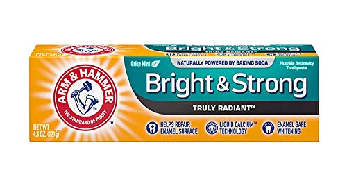 Arm & Hammer Truly Radiant Whitening & Enamel Strengthening Toothpaste Fresh Mint 4.3 Oz by Arm & Hammer