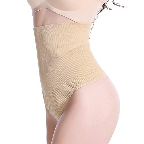 AMURAO Frauen hohe Taille Control Thong elastischen Bauch Butt Lifter weichen Former