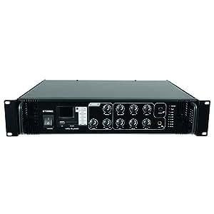 Omnitronic 061026 MP-120P PA Amplificateur Mélangeur Blanc/Rouge