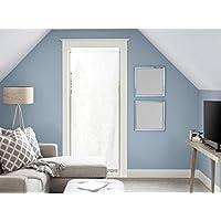Visillo para puerta acristalada de algodón 70x200 cm PANAMA blanco