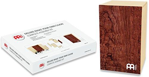 Meinl Percussion DMYO-CAJ-BU Deluxe Make Your Own Cajon - Kit para elaboración de tu propio cajón (tapa de madera de bubinga)