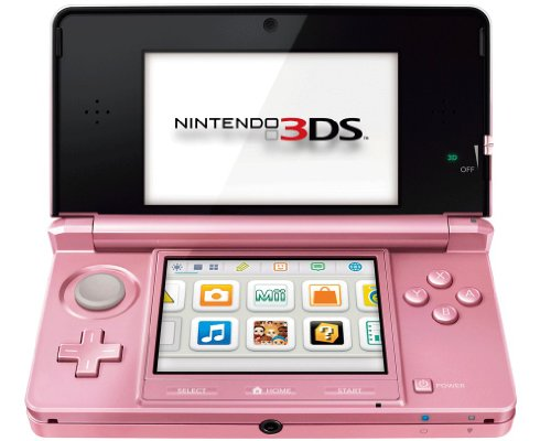 Nintendo 3DS - Konsole, coral pink (Ds-touchpen Game Boy)