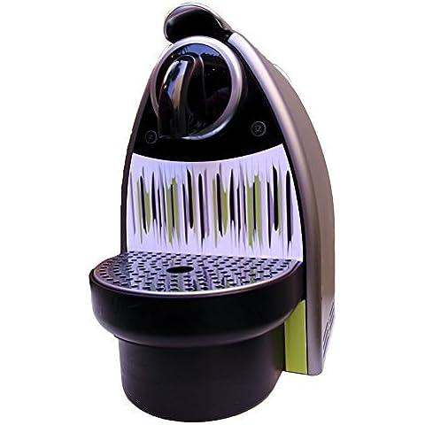 Sticker/Pegatina autoadhesiva de vinilo para Krups Nespresso Essenza - Patrón 2 - Negro, Verde Y