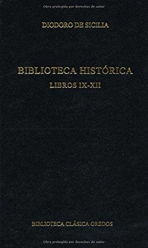 Biblioteca historica libros ix-xii (B. BÁSICA GREDOS)