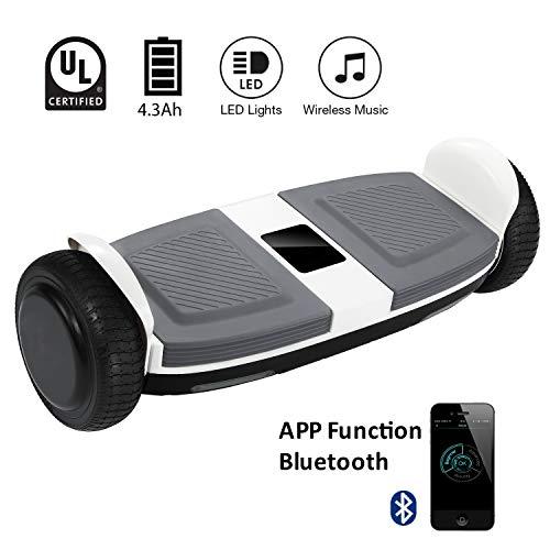"Markboard Elektro Scooter Hoverboard 6,5"" E-Balance E-Skateboard Elektroroller Bluetooth APP"