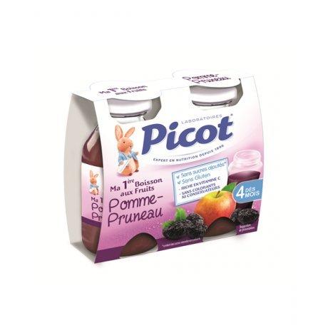 PICOT Ma première boisson aux fruits POMME PRUNEAU 2x130ml