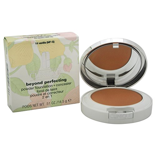 Clinique Fondotinta, Beyond Perfecting Powder Foundation, 14.5 gr, 14-Vanilla
