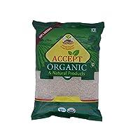 Accept Organic Urad Dal Mogar/Skinless Split Black Lentil -1 Kg