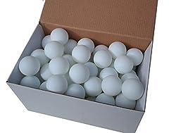 75 Tischtennisbälle 38mm ohne Aufdruck