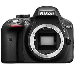 Nikon D3300 24.2 MP Digital SLR Camera (Black) Body Only with 4 GB Card and Camera Bag + Free Toshiba 16GB FlashAir Wi-fi (Class 10) SD Card + Photron Stedy 450 Tripod