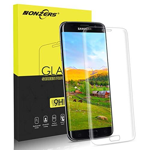 NONZERS Protector de Pantalla para Samsung Galaxy S7 Edge, [1Unidades] 9H...